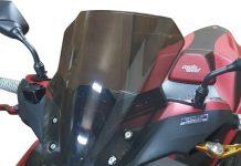Windshield Aerox155 Nemo