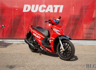 Kymco untuk Paddock Ducati
