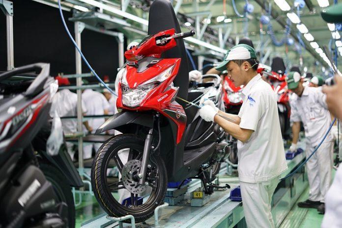 Ekspor Meningkat Honda BeAT