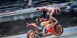 Saat latihan bebas (FP) pertama MotoGP 2019 Thailand, Marc Marquez terjatuh. Menurut Alberto Puig penyebab Marquez jatuh karena debu