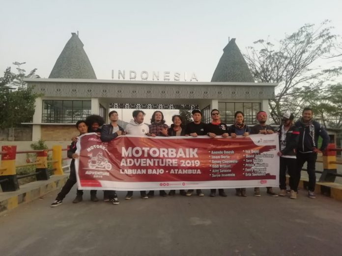 Motorbaik Adventure 2019 Tuntaskan Misi