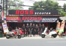 Launching Boss Scooter