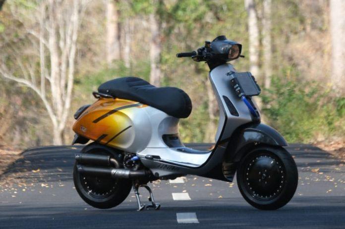Vespa Sprint Mesin 250cc