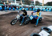 Serunya Flat Track Race Kustomfest 2019, Ada Cheetah dari Jepang Turun!