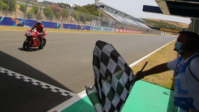 Race2 WorldSBK 2020 Jerez