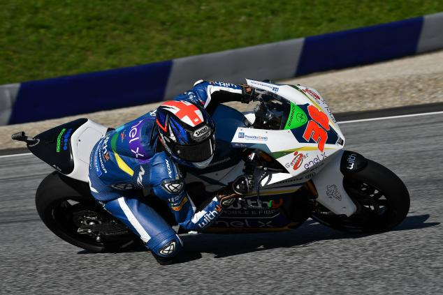 Smith di MotoE 2019 Valencia