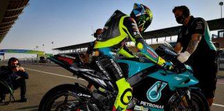Rossi memulai aksi pertamanya