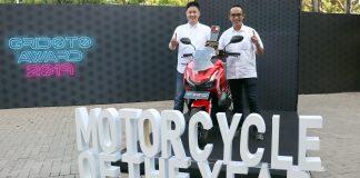 Honda ADV150 Jadi Motor Terbaik 2019