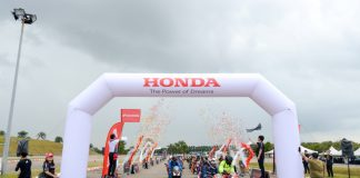 Menjajal Big Bike Honda CBR