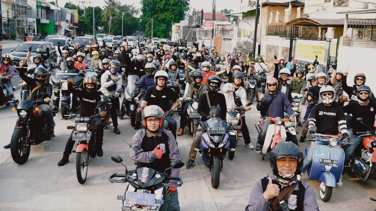 Galeri Foto Ulang Tahun Bikers Dakwah Pertama,Diirangkul Bukan Dipukul