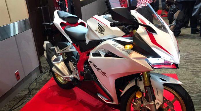 JUbah baru Honda CBR250RR