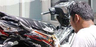 Mencuci Sepeda Motor Yang Baik dan Benar, Jangan Semprot Bagian ini