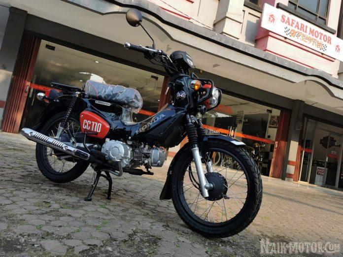 Honda Cross Cub 110 Kumamon