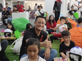 Menteri Sosial Ari Batubara Apresiasi Pengenalan Helm untuk Anak-anak