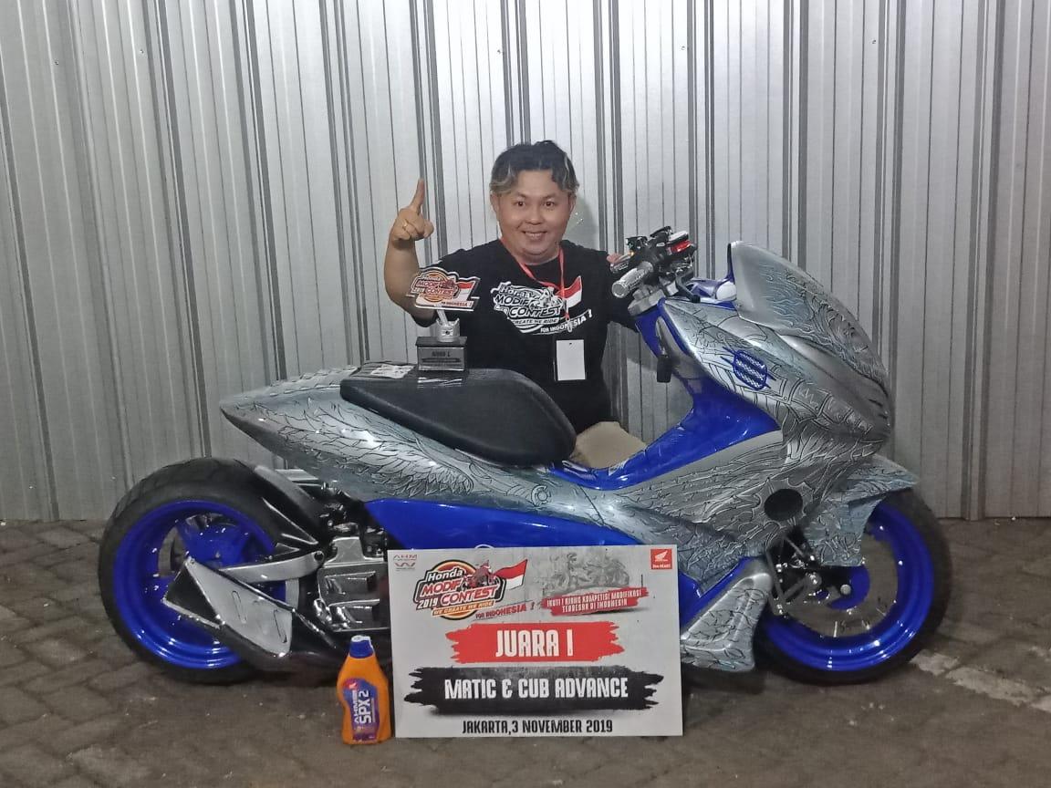 Pemenang Honda Modif Contest 2019 Jakarta