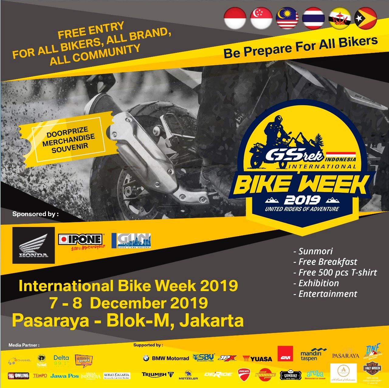 GSrek Bikeweek 2019