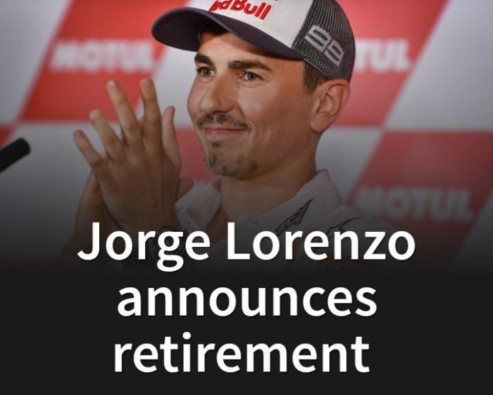 Jorge Lorenzo Pensiun