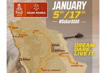 Rute Reli Dakar Arab