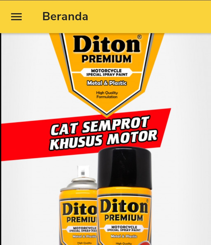 Aplikasi Diton Premium