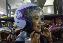 Helm Cargloss Hijaber