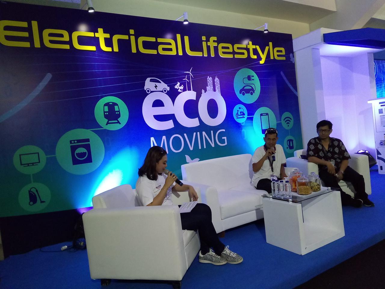 Becak Listrik Eco Moving