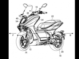 Paten E-Scooter Yamaha