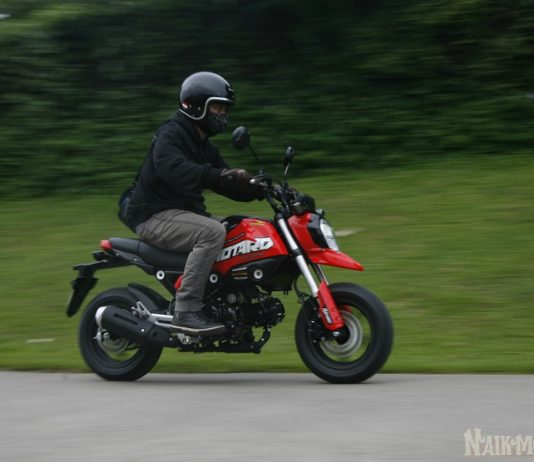 Test Ride Honda Grom 125