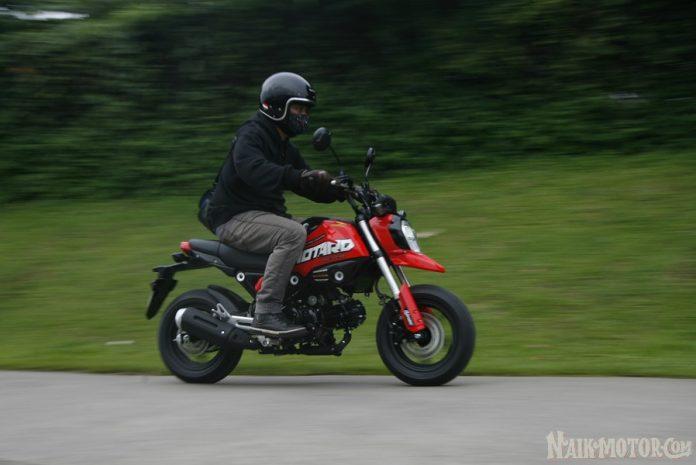Test Ride Honda Grom 125
