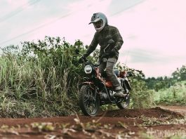 Test Ride Honda CT125