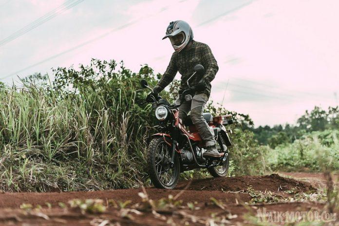 Test Ride Honda CT125
