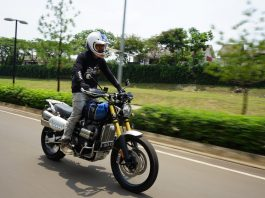 Test Ride Triumph Scrambler 1200 XE