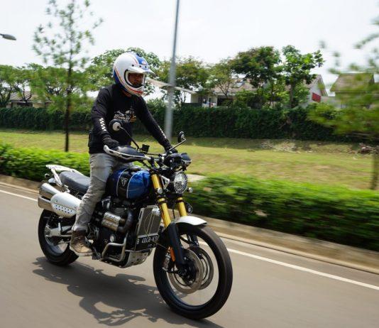 Test Ride Triumph Scrambler 1200 XE