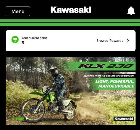 Aplikasi Mobile Kawasaki