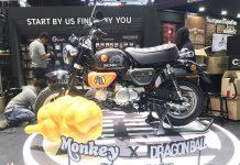 Honda Monkey Dragon Ball
