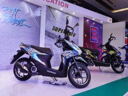 4 konsep modifikasi Honda Beat baru yakni Bobber, Free Music, Graffiti dan Supermoto