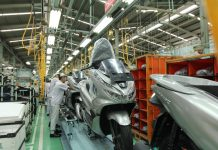 AHM Ekspor Perdana Honda
