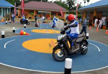 Safety Riding Lab Sumut