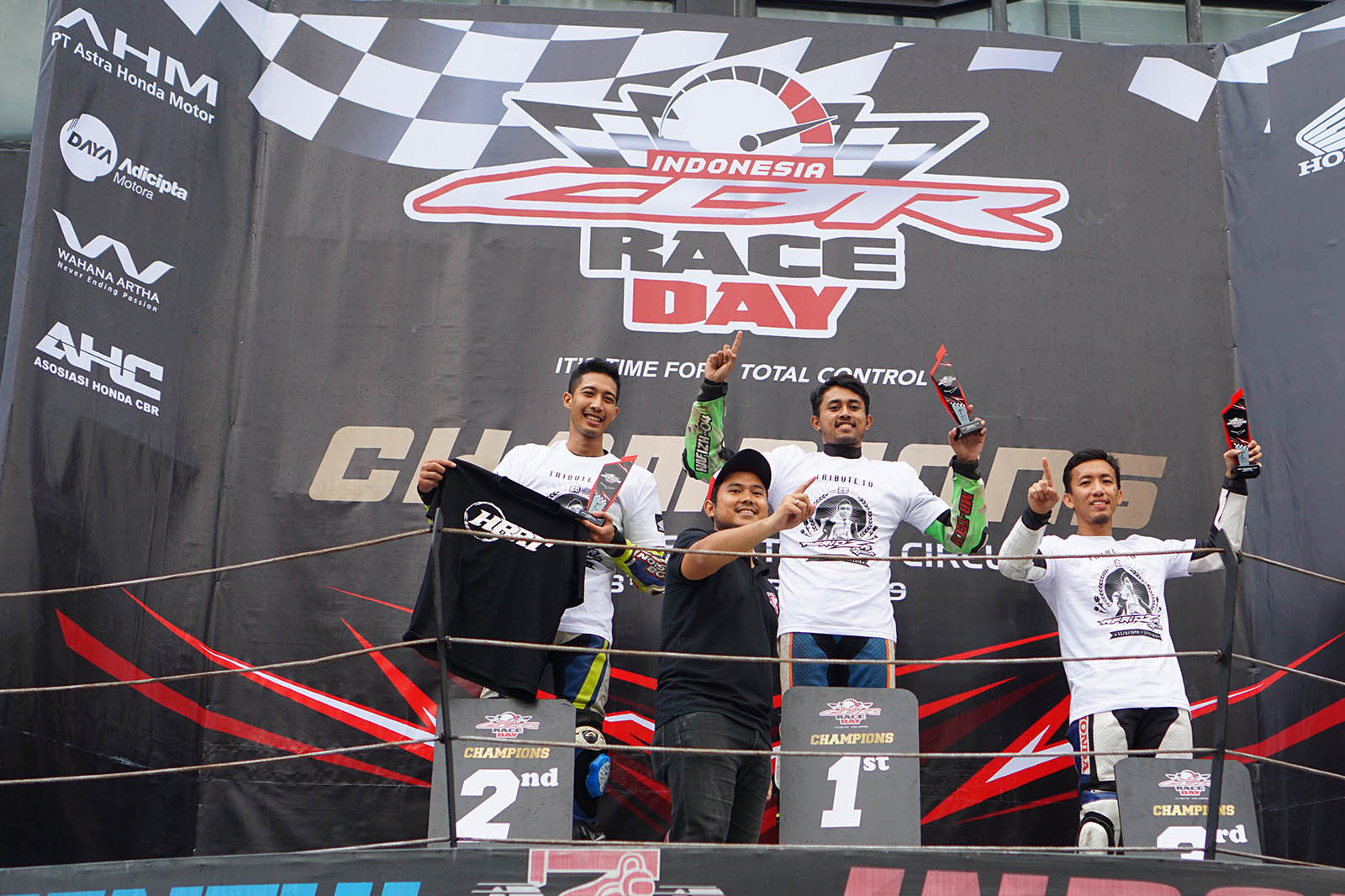 Hasil CBR Race Day 2019 Seri 3