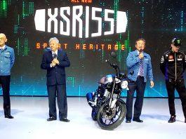 Yamaha XSR155 Dihadirkan