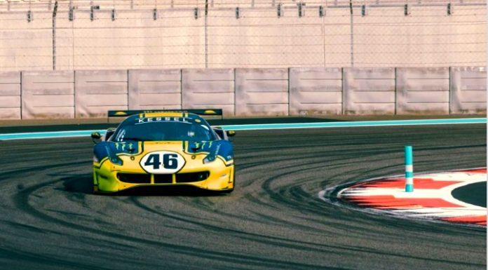 Rossi memilih Balapan Mobil