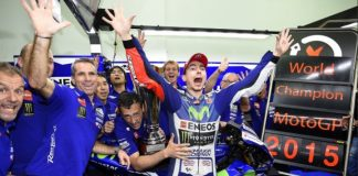 Lorenzo Test Rider Yamaha