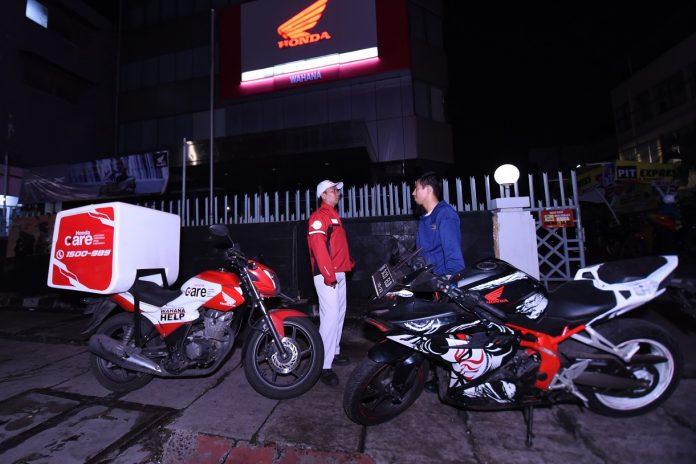 Wahana Honda Siagakan Help