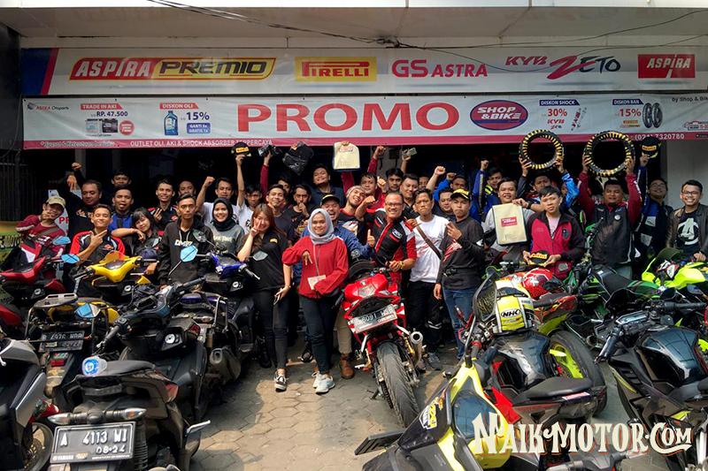 Shop & Bike Bersama Pirelli
