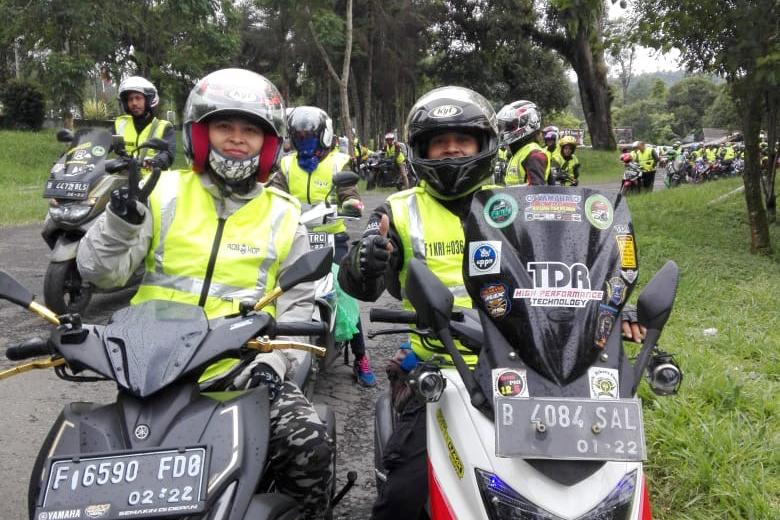 lady biker sejati