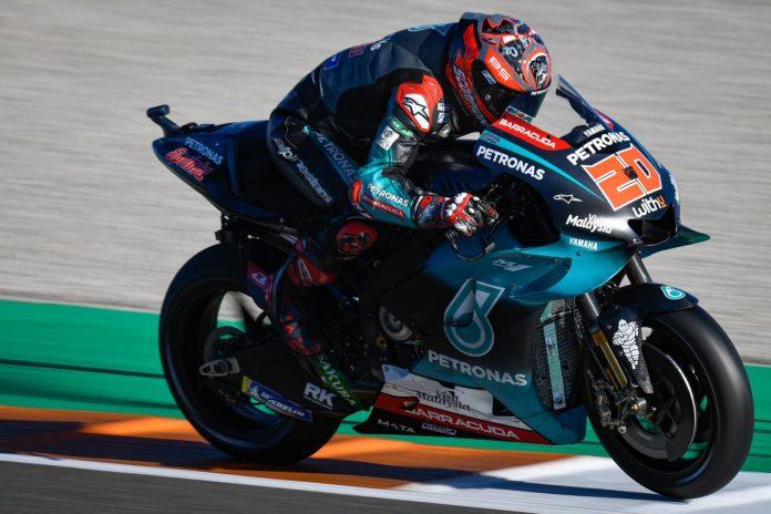 Quartararo di Line Up Yamaha MotoGP