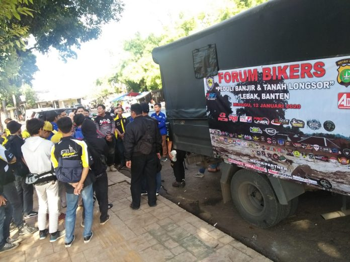 Forum Bikers Jabodetabek Bantu