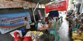 Pengobatan Gratis Korban Banjir