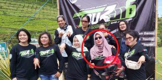Lady bikers ARCI