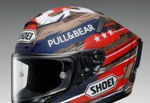 Siap-siap, Helm Shoei X-Fourteen Marquez America Meluncur Maret