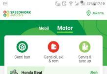Aplikasi Speedwork
